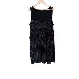 Torrid polka dot a-line dress